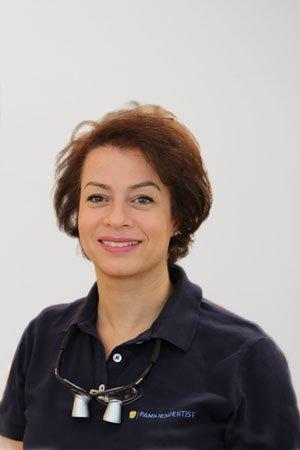 Kinderzahnärztin Shahrzad Mokabberi